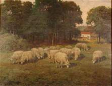 3073 Charles Phelan Oil Painting on Canvas Landscape