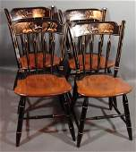 3225: Ethan Allen Thumb Back Windsor style Dining Chair