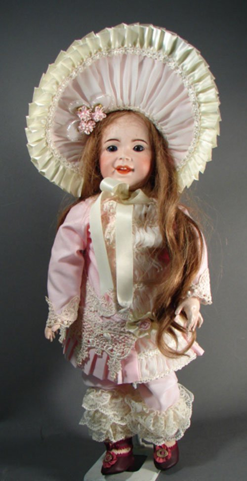 """2003: Rare S.F.B.J. 236 French Character Child Doll 21"""""""