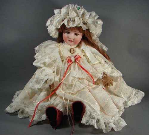 2005: Antique German Schoenau & Hoffmiester Bisque Doll