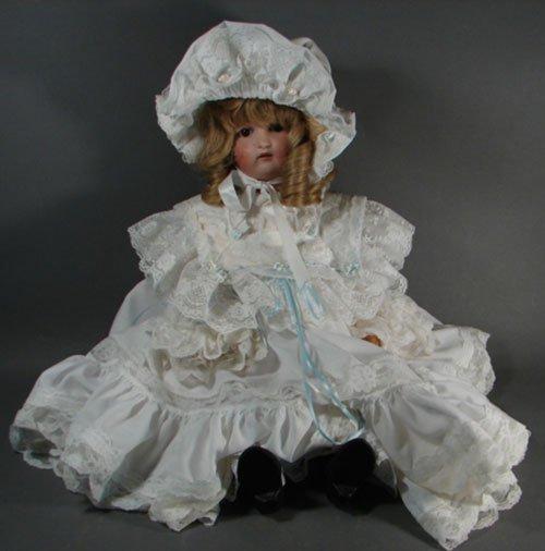 2008: Antique German Kestner 168 Bisque Character Doll.