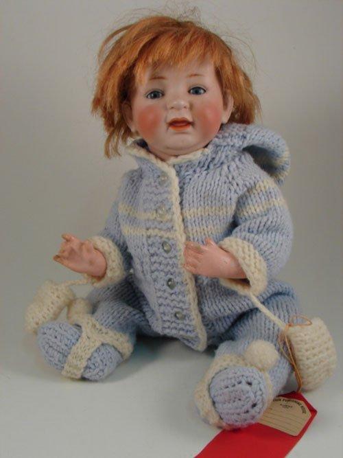 2010: Rare German Bisque Kestner 211 Character Baby Dol