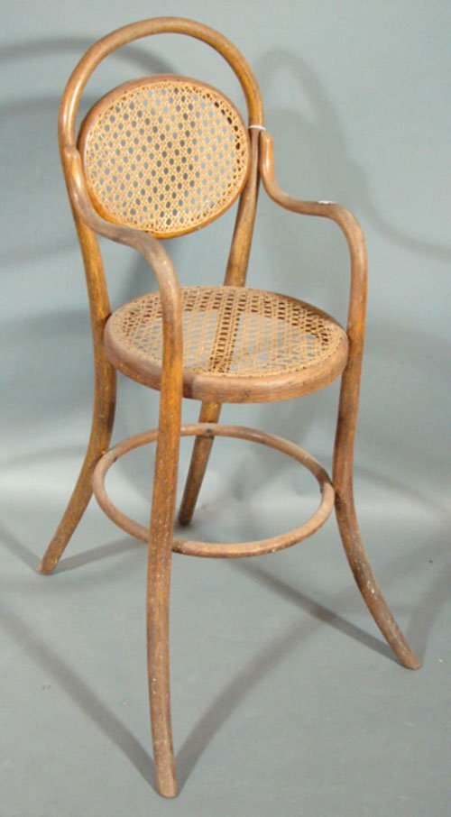 2021: Antique Thonet type Bentwood Youth chair with arm