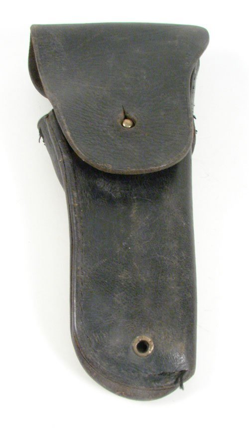 """2345: U.S. Military Leather Pistol Holster. Marked """"Bol"""