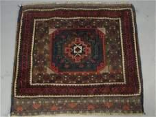 2215: Semi Antique Oriental Estate Area Carpet Rug. App