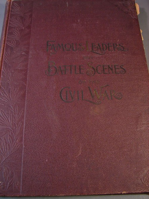 1100: Famous Leaders & Battle Scenes Civil War Book Les