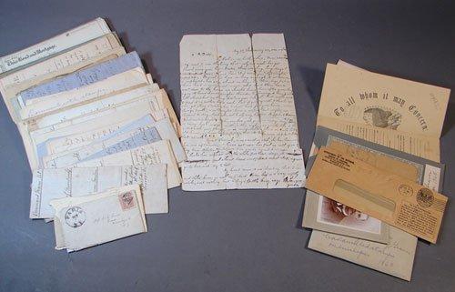 1112: Civil War Letters & Non Civil War Letters & Docum