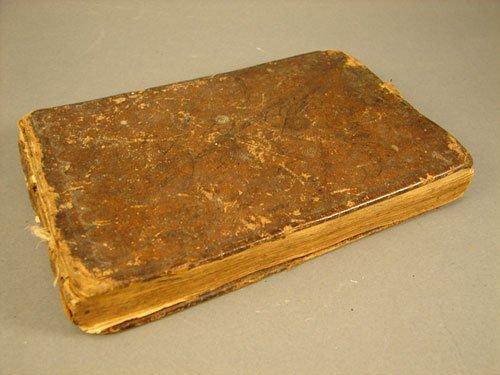 1116: 18th c. Account Book 1770's thru 1820's