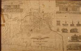 227 1834 Map Village of Auburn NY Published by Hagama