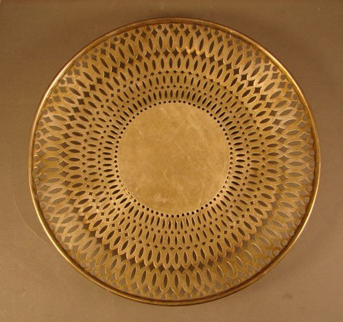15: International Sterling Tray with Pierced Decoration