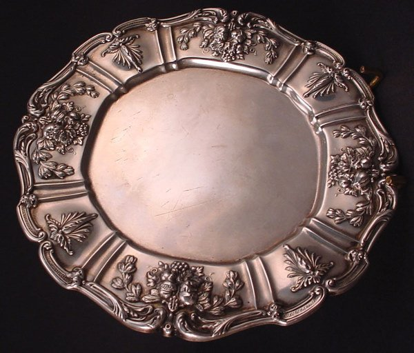 """7A: Reed & Barton Sterling Silver 7"""" diam. Salver in th"""