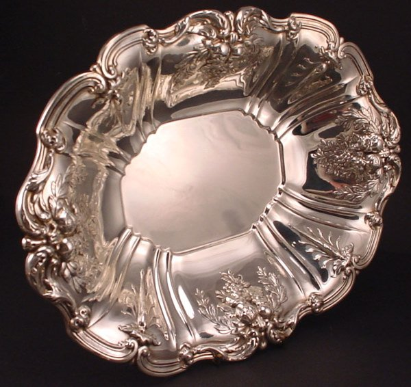 10A: Reed & Barton Sterling Silver large Serving Bowl.