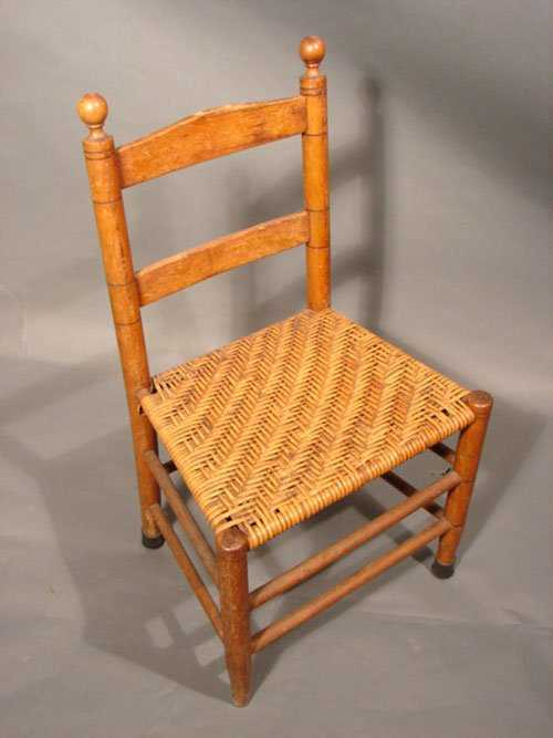 - 235: Mottville Style Antique Youth / Child's Chair. Uns