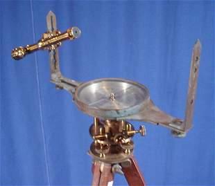 """Antique """"W.&L.E. Gurley"""" Surveyor's Instruments."""