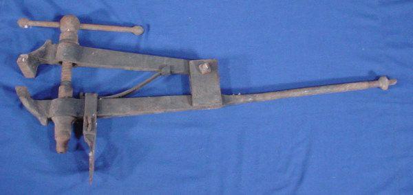 Iron & Steel Bench Vise.