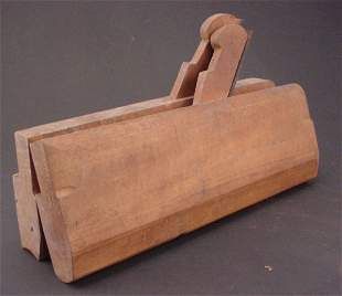 Two Antique Wood Molding Planes. Matched pair. Ma