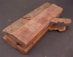"""Two Antique Wood Molding Planes. Marked """"Arrowmam"""