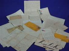 1600: Group of Important American Civil War Letters. Wr