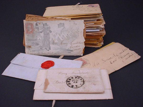 Group of Important Civil War Letters including se