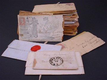 1613: Group of Important Civil War Letters including se