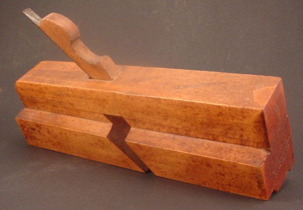 """2010: Decorative Molding plane. Greenfield Tool Co. """"M."""