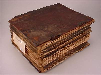 """2746: """"A rare German bible"""" """"Dated 1670"""" note - Some of"""