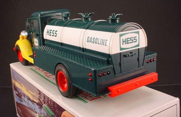 "216: Hess Truck. ""First Hess Truck Toy Bank"". 4 1/2""h x - 3"