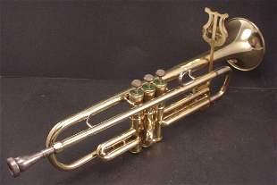 """""""Olds"""" Brass Trumpet in original case. 2nd Half 2"""