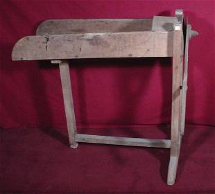 Cast Iron and Wood Slicer