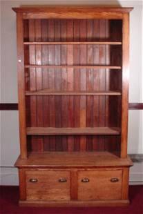 Tan Oak Bookcase