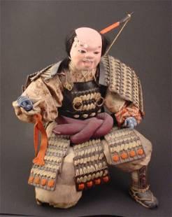Composition Figure of a Samurai