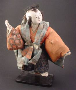 Hand Painted Composition Doll