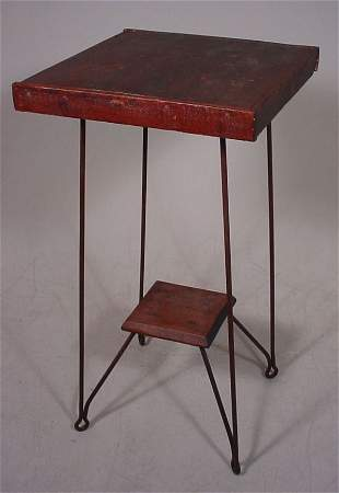 Antique Ice Cream Parlor Table