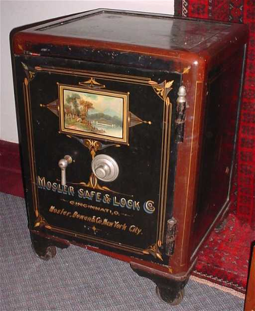4045a Mosler Antique Safe