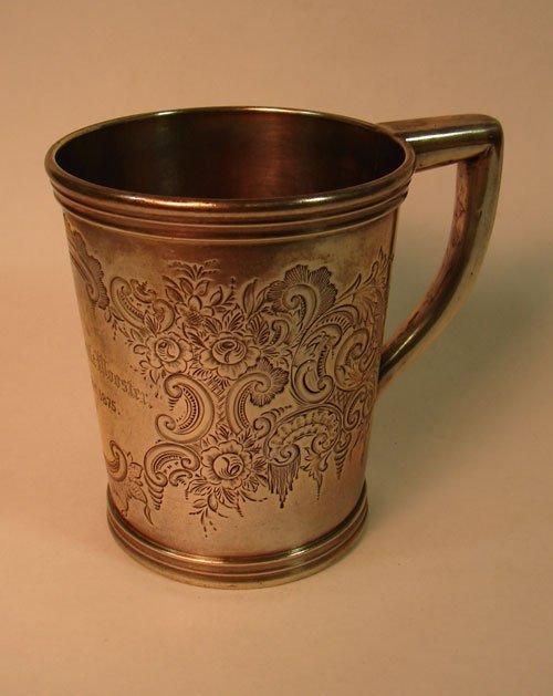 7: Bigelow Bros & Kennard Boston Silver Cup. Inscribed