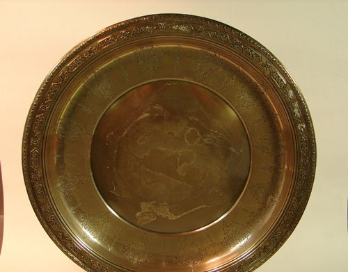 10: Towle Sterling Silver Louis XIV Pattern Large Charg