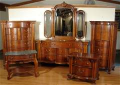 160 Lexington Heirloom Victorian Six Piece Cherry Set