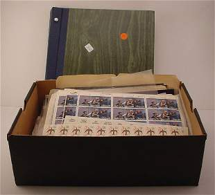 Box Lot of US Postage. $700+ (face value)