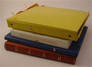 4 Books UN and Foreign. Mostly Germany