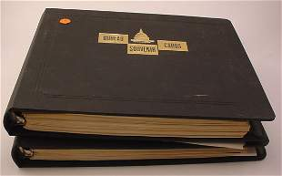 2 US Books with matching plate blocks-postage $270+