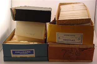 7 Books of Plate Blocks.