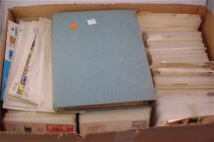 Large Lot of US First Day Covers, UN First Day Cove