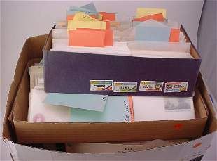 Large Lot of US pre-cancelled envelopes and postcar