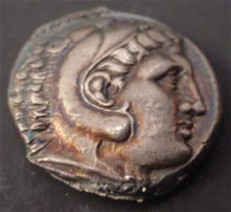 339: 336-323 BC. Macedonia Kingdom Silver Tetradrachma