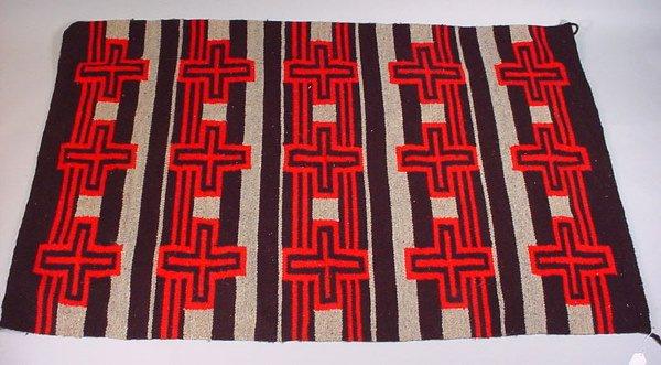 "4189: Navajo Rug 20th c. 70 1/2"" x 46 1/2"""