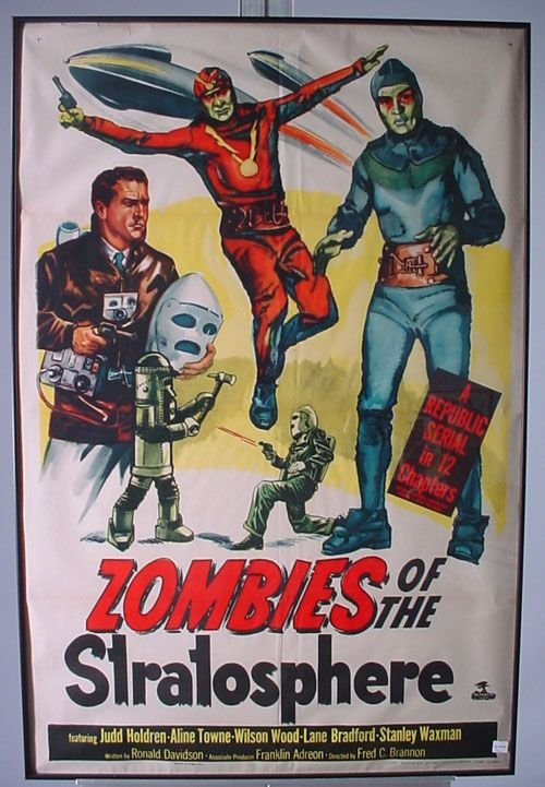 4011A: Zombies Colored Movie Poster