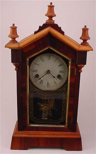 """Jerome & Co"" Shelf Clock. Model 250. Restorations."