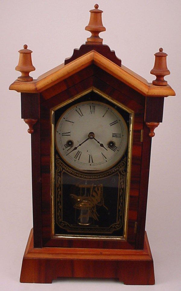 "1: ""Jerome & Co"" Shelf Clock. Model 250. Restorations."