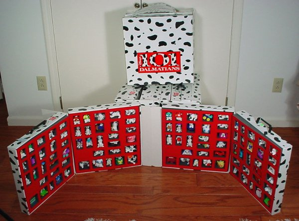 1: Four McDonald's 101 Dalmatians Happy Meal Collector