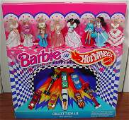 4 Six McDonalds Barbie or Hot Wheels Happy Meal Colle